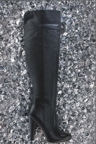 Twelfth St. By Cynthia Vincent By Cynthia Vincent Devi Leather Boots in Black