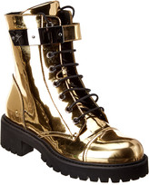 Giuseppe Zanotti Harvey Metallic Patent Boot