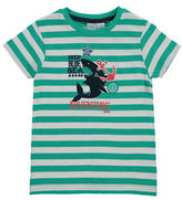 Bob Der Bar Striped Graphic T-Shirt