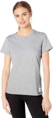 Calvin Klein Women's Premium Performance Crew Neck T-Shirt (Standard and Plus)