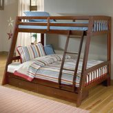 Hillsdale Rockdale Twin-over-Full Bunk Bed