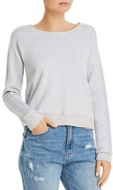 Three Dots Cotton Sweatshirt