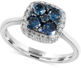 Effy Bella Blue by Diamond Ring (3/4 ct. t.w.) in 14k White Gold