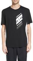 adidas Men's Art Of Mesh Graphic T-Shirt