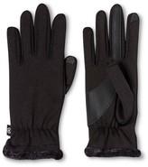 Isotoner Gloves Black Solid