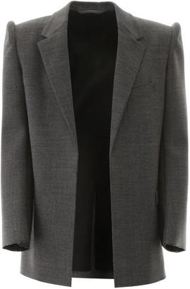 Balenciaga jacket with suspended shoulders