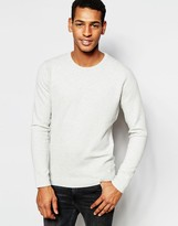 Scotch & Soda Jumper With Textured Knit - White