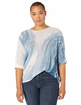 Nic+Zoe Women's Petite Tidal Wave TOP