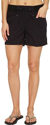 Royal Robbins Jammer Shorts (Jet Black) Women's Shorts