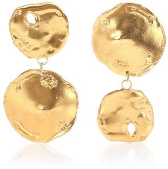 Alighieri Il Fuoco 24kt gold-plated earrings