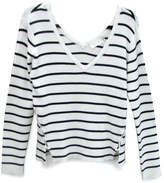 RD Style Striped V Sweater