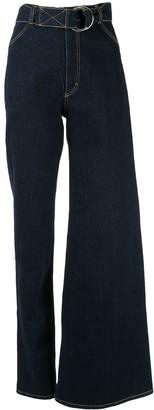 Ksenia Schnaider Asymmetric Fit Jeans