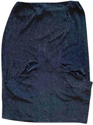 Les Prairies de Paris Black Cotton - elasthane Dress for Women