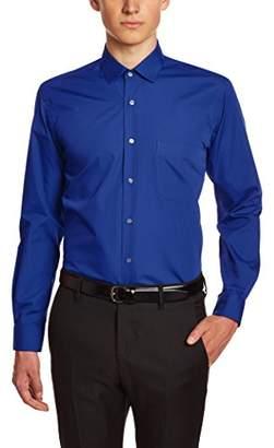 Horizon Men's 101026140 Regular Fit Cutaway Long Sleeve Formal Shirt Formal Shirt (Manufacturer size:40)