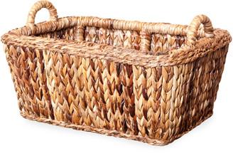 Mainly Baskets Sweater Weave Havana Euro Market Basket