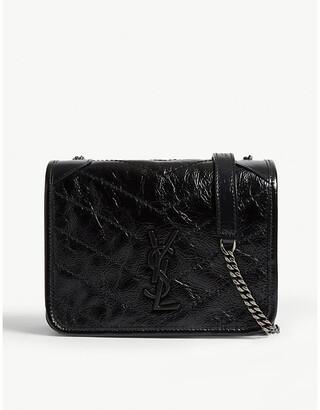 Saint Laurent Niki leather wallet-on-chain