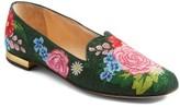 Charlotte Olympia Women's Rose Garden Loafer
