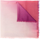 Paul Smith ombre fringed scarf