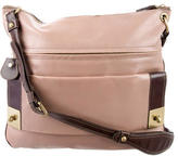 Mulberry Bi-Color Leather Crossbody Bag