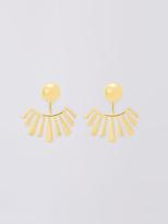 Diane von Furstenberg Gold Stick Jacket Earring