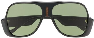 Gucci GG0785S aviator-frame sunglasses