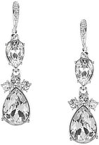 Givenchy Worth Crystal Double-Drop Earrings