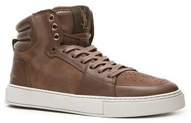 Yves Saint Laurent Suede & Leather Sneaker