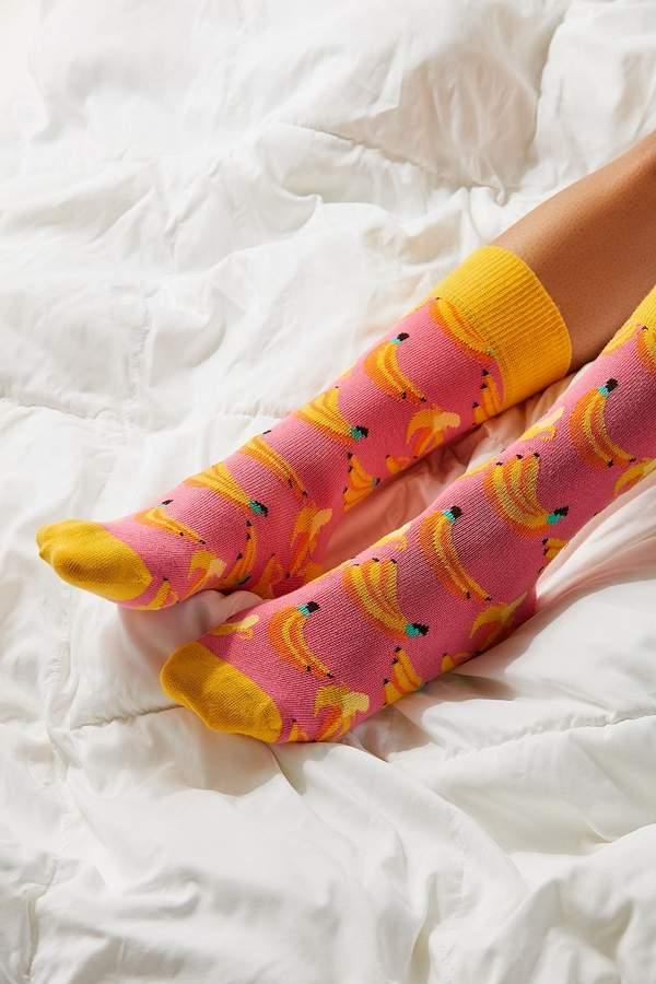 Happy Socks Banana Crew Sock