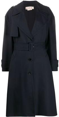 Marni Virgin Wool Trench Coat