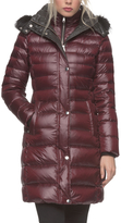Andrew Marc Gayle Tall Hooded Puffer Coat