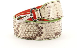 Fendi Strap You Shoulder Strap Python and Leather