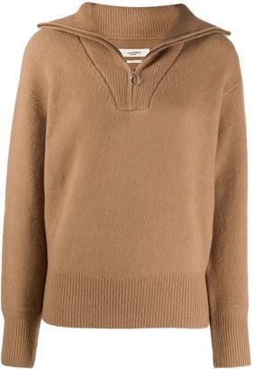 Etoile Isabel Marant Fancy zip-neck jumper
