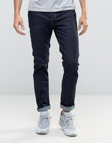 Selected Rinse Wash Jeans with Stretch in Slim Fit