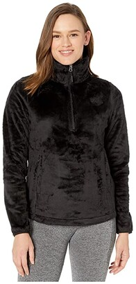 The North Face Osito 1/4 Zip Pullover (Deep Garnet Red) Women's Coat