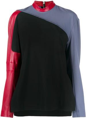 Ambush Panelled Colour-Block Sweatshirt