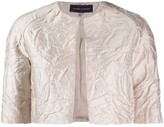 Talbot Runhof Nununu cropped jacket