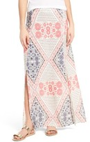 Roxy Women's Sri Vibe Print Maxi Skirt