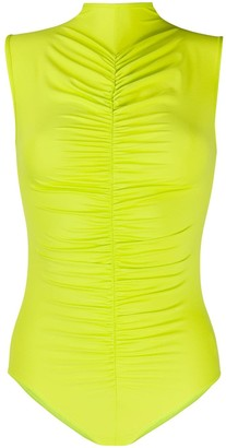 Fantabody Maria ruched detail one-piece