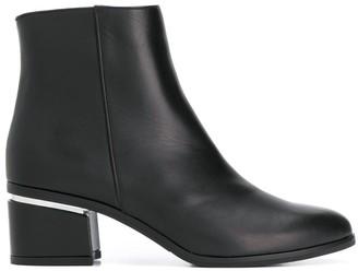 Albano block-heel ankle boots