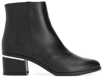 Albano Block-Heel Ankle Boots