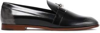 Tod's Appliqued Glossed-leather Loafers