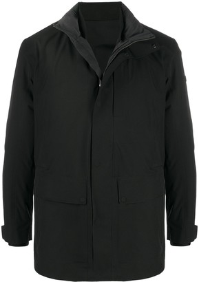 Ermenegildo Zegna High-Neck Zip-Up Jacket