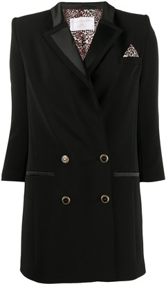 Elisabetta Franchi Tuxedo Mini Dress