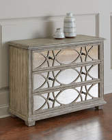 Hooker Furniture Scarlet Antiqued Mirrored Chest