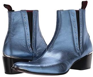 Jeffery West Stud Glam Chelsea Boot Murphy (Black) Men's Shoes