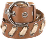 Miu Miu Brown Leather Belt