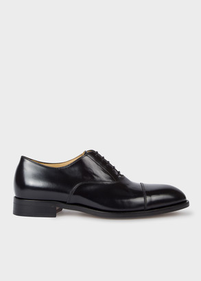 Paul Smith Men's Black Calf Leather 'Kenning' Oxford Shoes