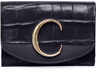Chloé C Mini Tri-Fold Wallet