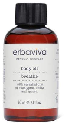 Erbaviva Breathe Body Oil Travel, 2 fl oz