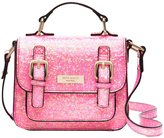 Kate Spade Glitter Scout Bag - Pop Coral (Toddler/Kids) - Pop Coral - One Size